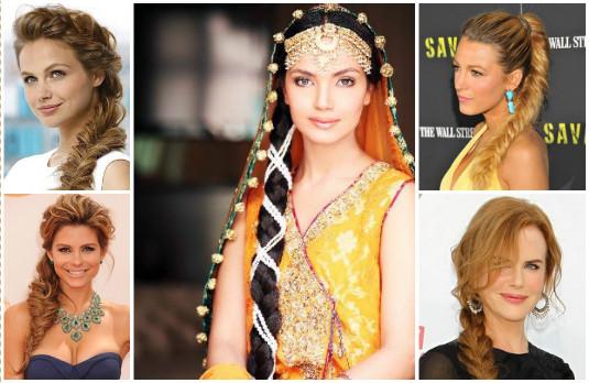 Wedding Hairstyle 1 - Braids | Mane Game - Beautiful Indian Wedding Hairstyles