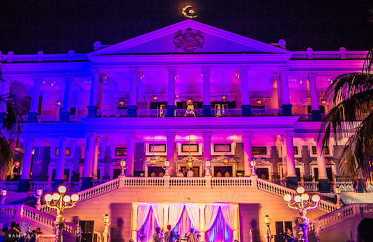 Falaknuma Palace Hotel in Hyderabad | Beautiful Locations for a Big Fat Asian Wedding