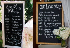 Our Love Story | Unique Wedding Venue Decoration