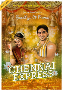 Chennai Express | Unique Wedding Venue Decoration