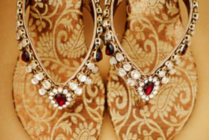 Brocade Chappals | 10 Stylish Must-Have Indian Wedding Shoes