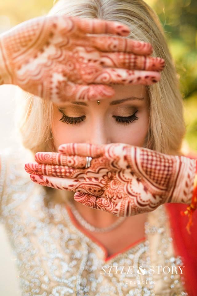 Indian Bridal Makeup by Columbus Wedding Makeup