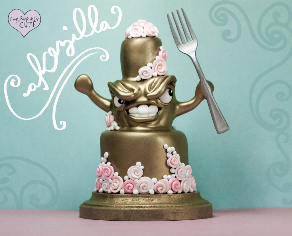 Hungry Cake Topper