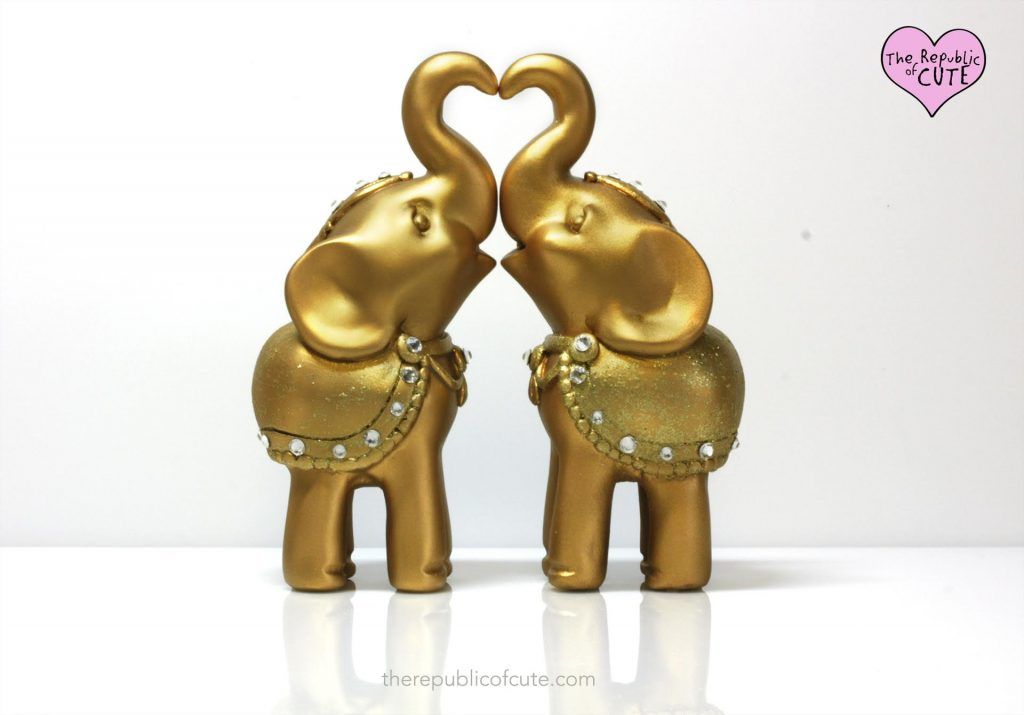 Elephants Cake Topper