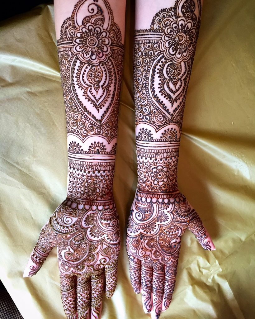Bridal Mehendi for the Hands