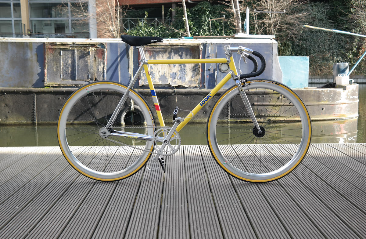 Look Ac 364 Steel Fixie Track Bike Bikesoup Galleries