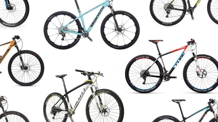 best buyers' guide best xc cross country mountain bike hardtail 650b or 29er wheel bike review vs specialized cube giant scott bianchi felt s-works nine women's