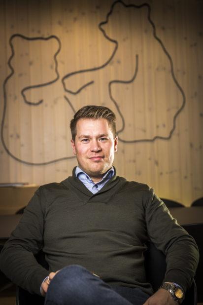 Amund Holberg, daglig leder i Brunbjørn.