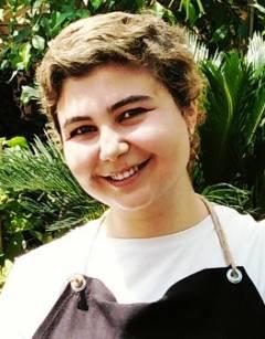Katya Moore reader of Coffee Cup, Dreams