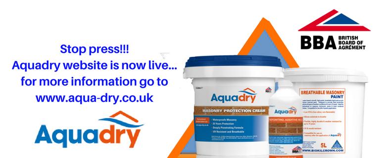 Aquadry slider