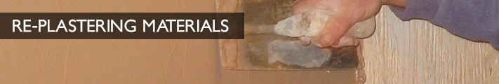 Re-Plastering Materials