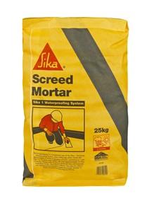 Sika 1 Screed Mortar