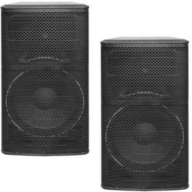 2x Beta 15″ Passive Speakers - 1000w RMS Full Range System