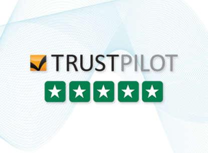 Trustpilot Score 9.8 = Excellent