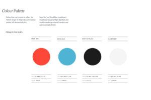 BishopSound Colour Palette