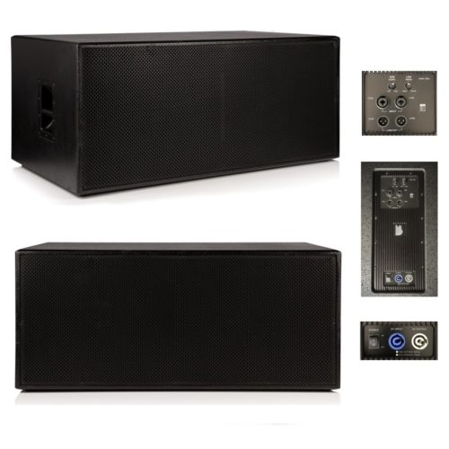 """Beta Twin 18"""" Active Powered Subwoofer 1500w RMS - Mark II"""