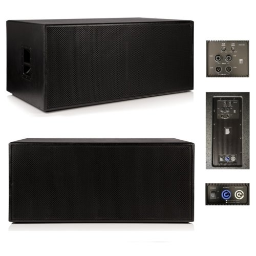 "Beta Twin 18"" Active Powered Subwoofer 1500w RMS - Mark II"