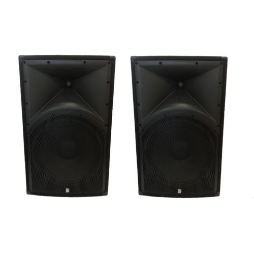 """2 x Alpha 12"""" Passive Speakers Both Fitted With Professional Drivers and Titanium 1.35 Compression Drivers"""