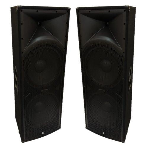 "2 x Alpha Twin  15"" Passive - 1200w RMS Speaker System"