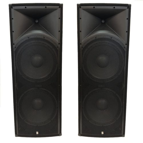 "2 x Alpha Twin  15"" Passive - 1200w RMS Speaker System"