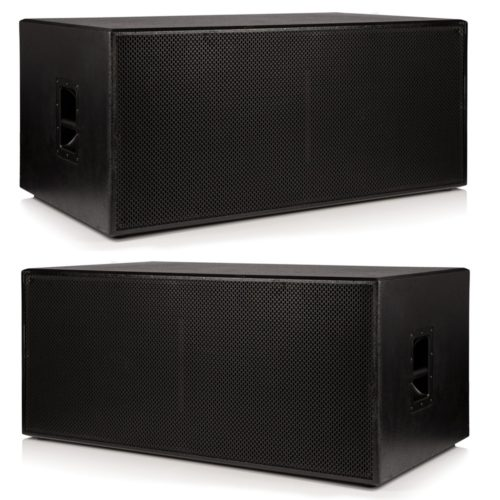 """2 x Beta Twin 18"""" Passive Sub Woofers - 4000w RMS System"""