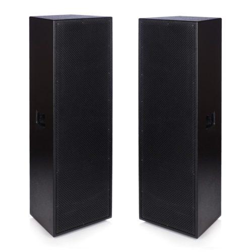 """2 x Beta Triple 12"""" Full range Trapezoidal 3x12"""" 1000w RMS Speaker"""