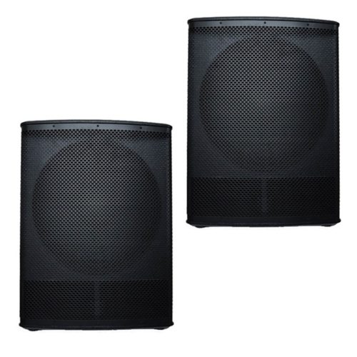 2x Delta 21″ Plywood Passive Sub Woofers - 4000w RMS System