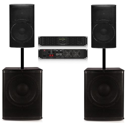 Big Gig Rig 12 PLUS - Complete with Amplifier 1800w RMS PA System