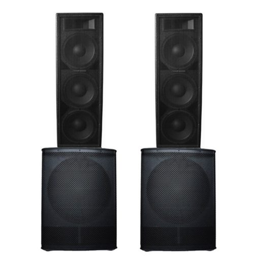 Big Gig Rig 14 - 6000w RMS PA System