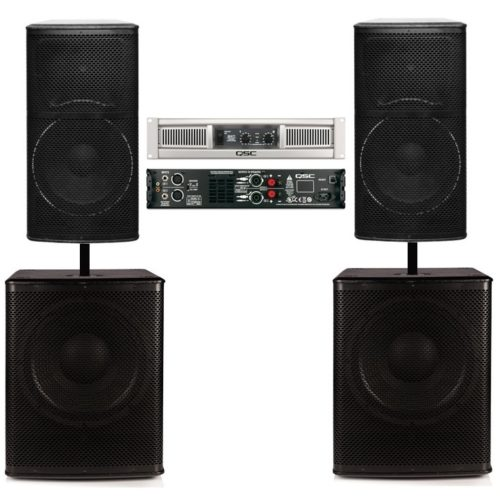 Big Gig Rig 6 PLUS - Complete with Amplifier 2000w RMS PA System