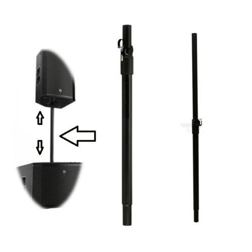 2 x 35mm Heavy Duty Telescopic Speaker Poles