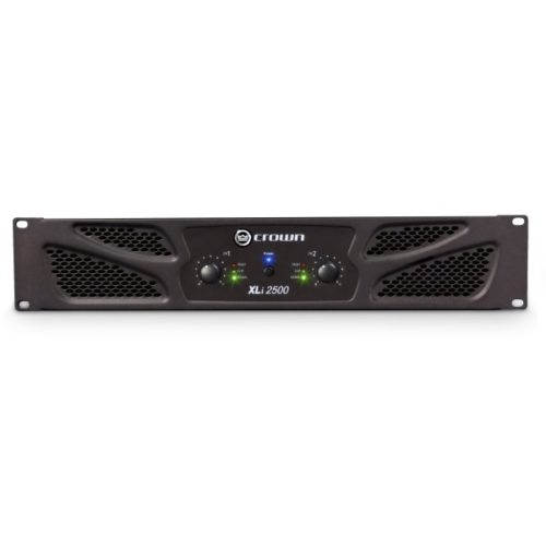 Crown XLi2500 Power Amplifier 1500w RMS