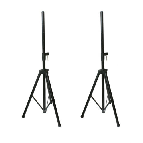 2 x 35mm PA Speaker Stands