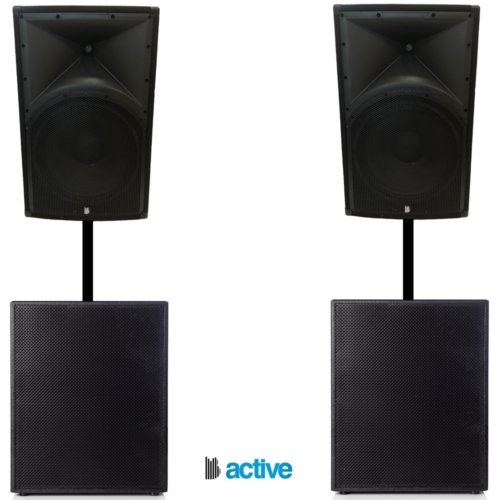 Big Gig Rig 36 - 6000w Fully Active Pa System