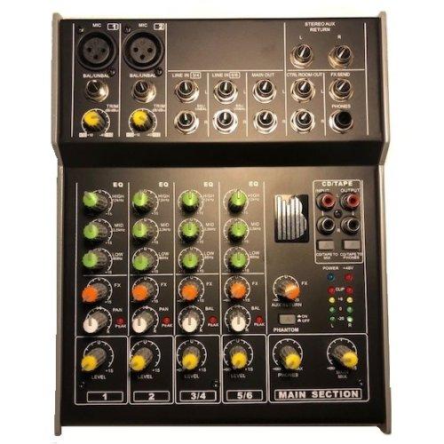BishopSound Mixer 6 Channel