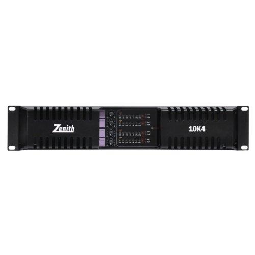 ZENITH 10K4 - 4 CHANNEL POWER AMPLIFIER 4 X 2500W 2 OHM STABLE CD4400 AMP80