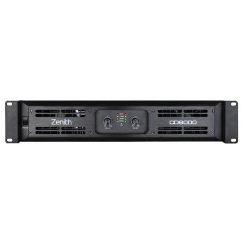 Zenith CD8000 - 2 Channel Power Amplifier 8000W RMS