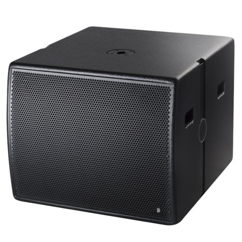 """BishopSound Delta Line Array Precision Active Single 18"""" 1500w RMS Subwoofer With DSP in a Flight Case"""