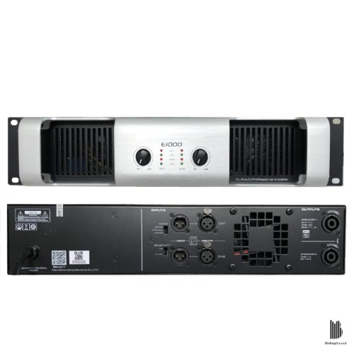 SAE E1000 - 2 Channel Power Amplifier 2,800W RMS
