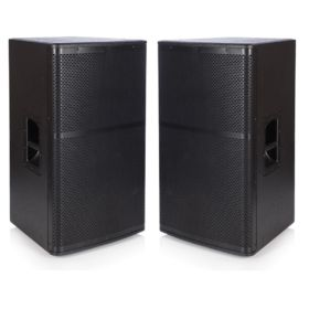 2x Beta 15″ Passive Speakers - 1200w RMS Full Range System