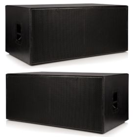 "2 x Beta Twin 18"" Passive Sub Woofers - 4000w RMS System"