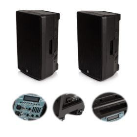 """2x Orion 12"""" Active Bluetooth Speakers - The Pair Deliver 800w RMS"""