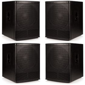 4 x Beta 18″ Passive Sub Woofers - 4000w RMS System