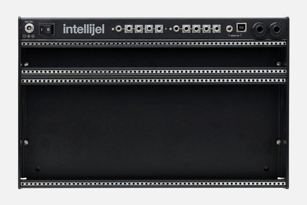 4U Palette Case 62HP Black by Intellijel