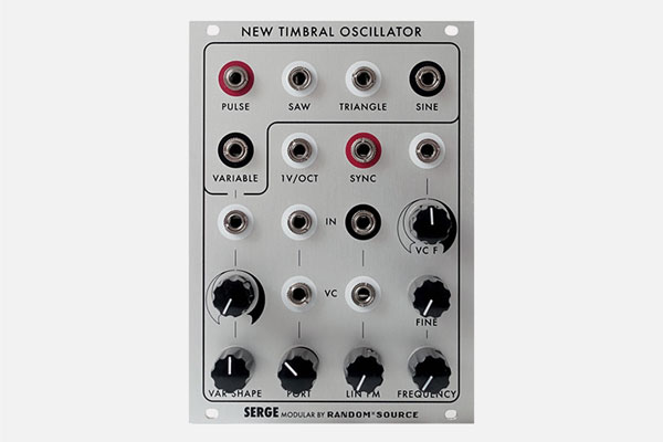 Serge New Timbral Oscillator by Random Source