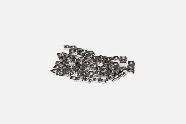 Frap Tools Square Nuts Pack 100 pcs