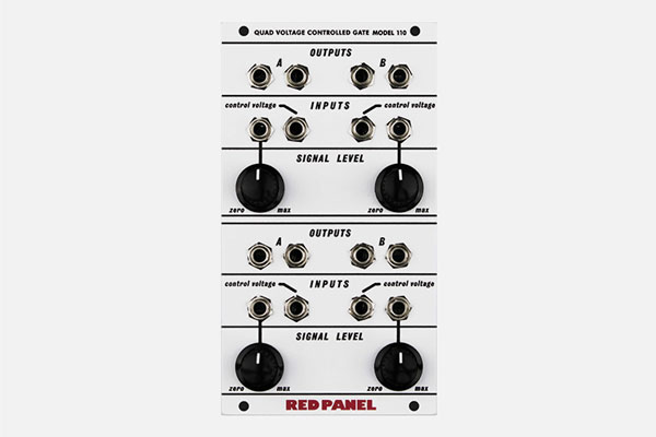 Red Panel Model 110 Quad Gate