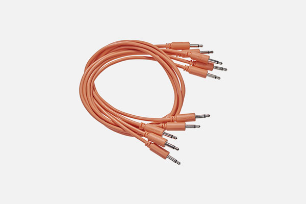 Black Market Modular Patch Cable 5-pack 150cm Orange