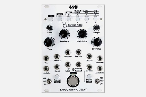Tapographic Delay by 4ms