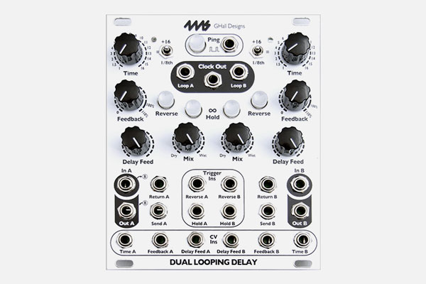 4ms DLD Dual Looping Delay